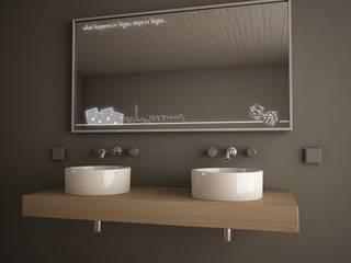 Badspiegel (Bathroom Mirrors): modern  von Lionidas Design GmbH,Modern