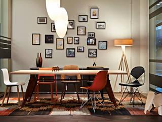 USM Vitra store im stilwerk Minimalist commercial spaces by minimum einrichten GmbH Minimalist