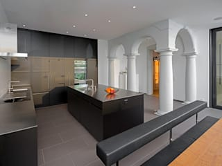 Haus Alpenblick Moderne Küchen von Alberati Architekten AG Modern