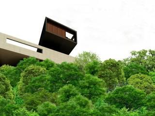 Nhà theo Nico Van Der Meulen Architects ,