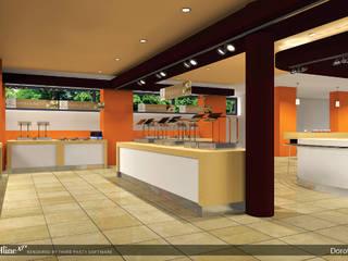ARCHLine.XP Interior Design Spazi commerciali moderni di Cadline Software srl Moderno