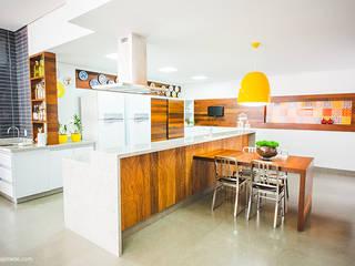 Rafaela Dal'Maso Arquitetura Cocinas de estilo ecléctico
