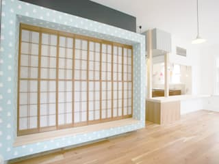 有楽の家 和風の 寝室 の 戸田晃建築設計事務所 和風