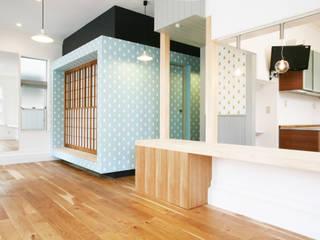 有楽の家 ミニマルデザインの ダイニング の 戸田晃建築設計事務所 ミニマル