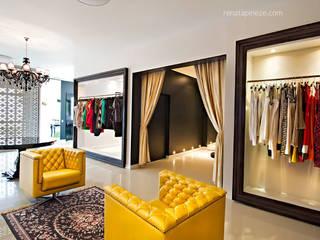Oficinas y tiendas de estilo ecléctico de Rafaela Dal'Maso Arquitetura Ecléctico