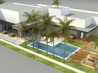 Casas modernas de Rafaela Dal'Maso Arquitetura Moderno