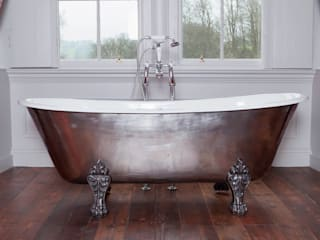 Schooner Cast Iron Bath with Hand Polished Exterior & Feet Classic style bathroom by Hurlingham Baths Classic