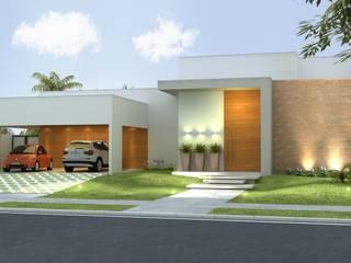 Casas de estilo moderno de Rafaela Dal'Maso Arquitetura Moderno