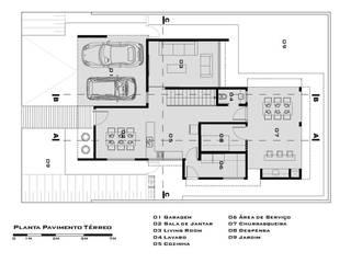 Casa no Royal Boulevard Residence Resort de Tony Santos Arquitetura Moderno