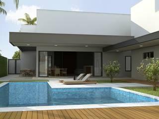 Rafaela Dal'Maso Arquitetura Rumah Modern