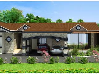 Farmhouse Design: modern  by ApnaGhar.co.in,Modern