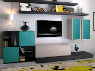 Salas de estilo moderno de Mighali_Faggiano studio Moderno
