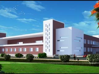 Institutional Design: modern  by ApnaGhar.co.in,Modern