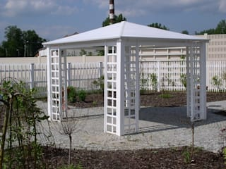 Ogrodzenia PCV Jardines clásicos
