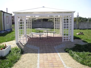 Ogrodzenia PCV Сад