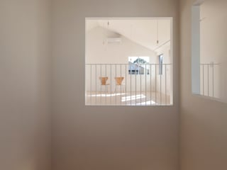 Corridor & hallway by YUCCA design, Minimalist