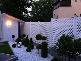 Classic style gardens by Ogrodzenia PCV Classic