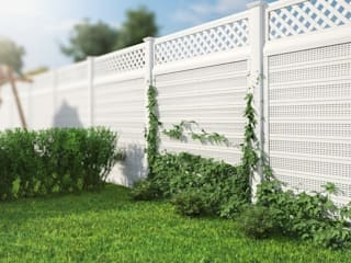 Classic style garden by Ogrodzenia PCV Classic