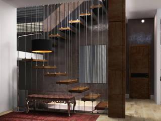 Couloir et hall d'entrée de style  par Quality Metric, Industriel
