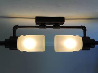 Rotor - Wandlampe / kurze Deckenlampe:  Geschäftsräume & Stores von offlight.eu