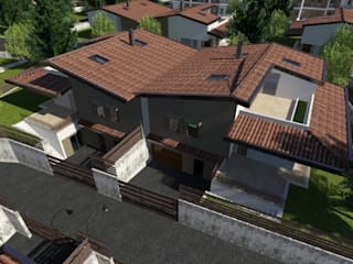 """complesso residenziale """"La Ninfea"""" - Catania studio appalti e grafica Case moderne"""