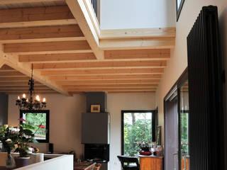 Empreinte Constructions bois Modern Living Room