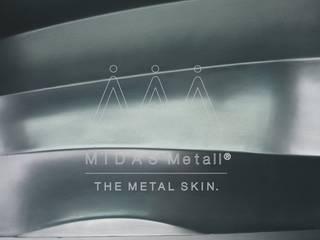 Zink lackiert auf Waveplatte:   von MIDAS Surfaces GmbH