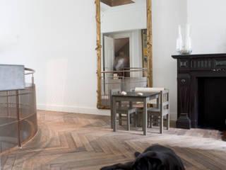 Renovatie en verbouwing woonhuis te Amsterdam Rustieke woonkamers van Kodde Architecten bna Rustiek & Brocante