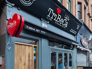 TriBeCa West Main entrance:  Gastronomy by Coogan Architects
