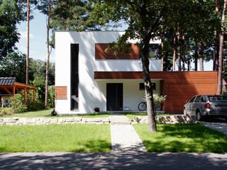 Einfamilienhaus Zieglschmid: moderne Häuser von steffen janke architekt