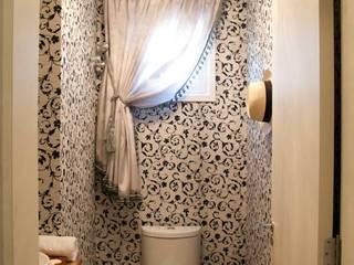 Lavabos e Banheiros: Banheiros  por ARQ Ana Lore Burliga Miranda