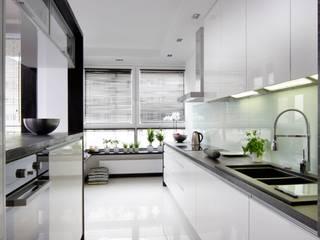mieszkanie warszawa sadyba Nowoczesna kuchnia od art proces Nowoczesny