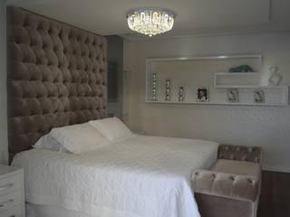 Dormitorios de estilo ecléctico de Ésse Arquitetura e Interiores Ecléctico