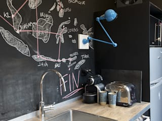Atelier Grey Cocinas de estilo moderno