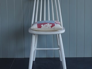 1960's Style Dining Chair:   by Rectory Blue