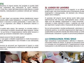 ARCHITETTURA FENG SHUI PER LA CASA E IL LUOGO DI LAVORO:  in stile  di BaBo Design - Barbara Sabrina Borello