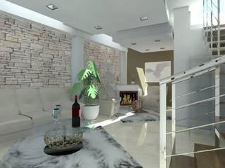 Living room - Catania studio appalti e grafica Cantina moderna