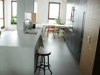 t design Industrial style kitchen