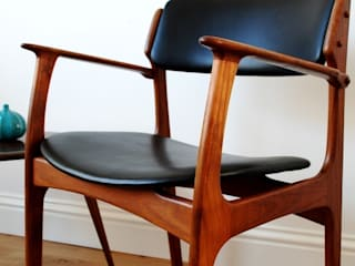 Erik Buck chair model 50 arm chair:   by Zanders And Sons