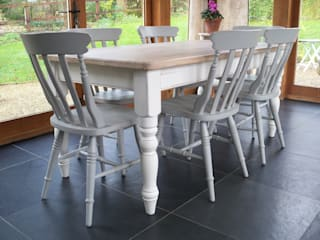 Hand Painted Dining Tables: country  by Rectory Blue, Country