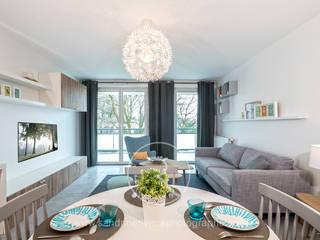 Sandrine RIVIERE Photographie Scandinavian style living room