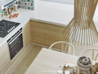 WOODEN KITCHEN Кухня в рустикальном стиле от ILKIN GURBANOV Studio Рустикальный