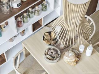 Rustic style kitchen by ILKIN GURBANOV Studio Rustic