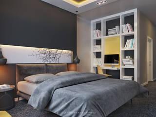 Dormitorios modernos: Ideas, imágenes y decoración de ILKIN GURBANOV Studio Moderno