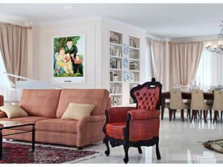 Phòng khách theo ILKIN GURBANOV Studio, Kinh điển
