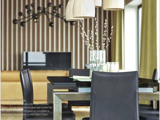 Phòng ăn theo ILKIN GURBANOV Studio, Tối giản