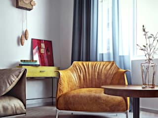 Livings de estilo escandinavo de ILKIN GURBANOV Studio Escandinavo