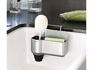 sink caddy, stainless steel de simplehuman Moderno