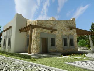 Zeus Tasarım Ltd. Şti. Casas de estilo moderno