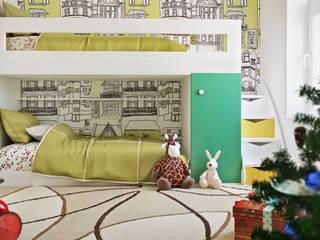 Phòng trẻ em theo ILKIN GURBANOV Studio, Hiện đại